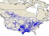 Interstate pipeline map