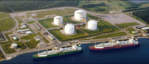 Image result for pictures of liquefied natural gas facilities